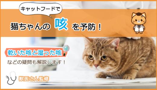 咳が出てしまう猫ちゃんのキャットフードの選び方とおすすめランキング!