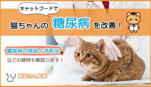 糖尿病な猫ちゃんにキャットフードの選び方とおすすめランキング!